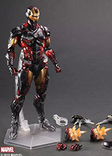 PLAY ARTS MARVEL SUPER HERO IRONMAN FIGURE TOY 25CM