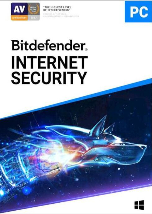 Bitdefender Internet Security 2019 1 PC 1 Year Key Global