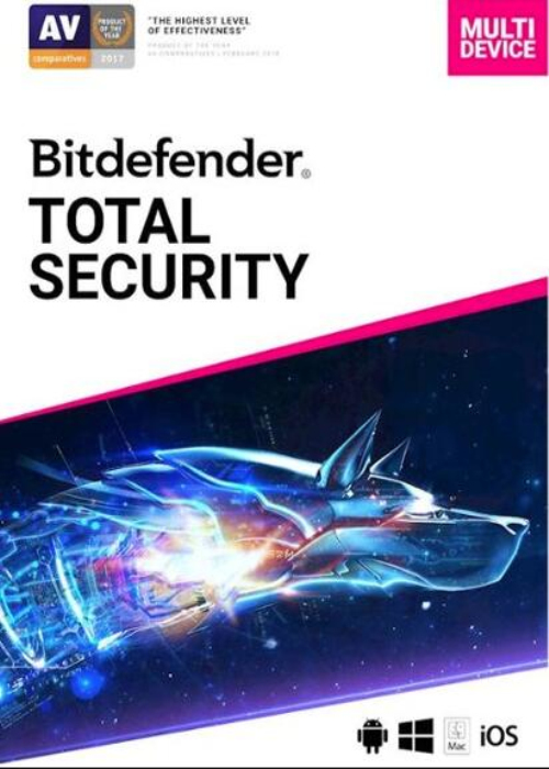 Bitdefender Total Security 10 PC 1 Year Key Global