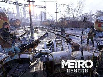 Official Metro Exodus Epic Key EU
