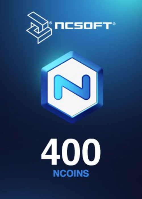 400 NCoins NCSoft North America Code