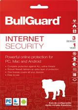 Official BullGuard Internet Security 3 PC 1 Year OEM Key Global