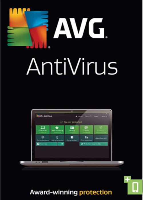 AVG Antivirus 3 PC 1 Year Key Global