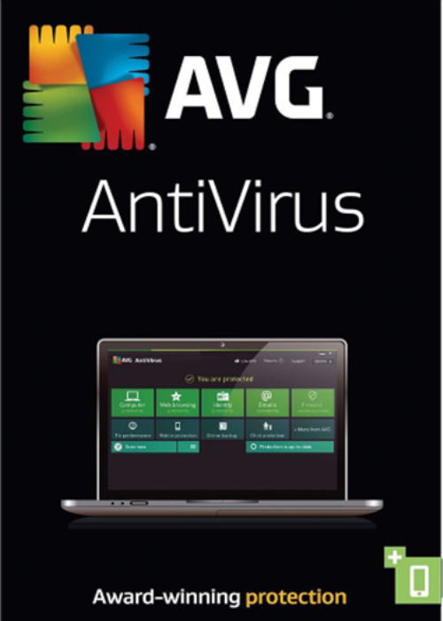 AVG Antivirus 3 PC 2 Year Key Global