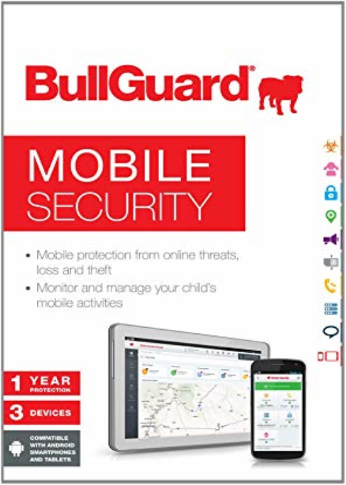 BullGuard Mobile Security 2018 3 User 1 Year Key Android