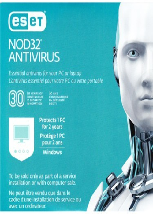 Eset Nod32 Antivirus OEM V11 1 PC 2 Year Key Global