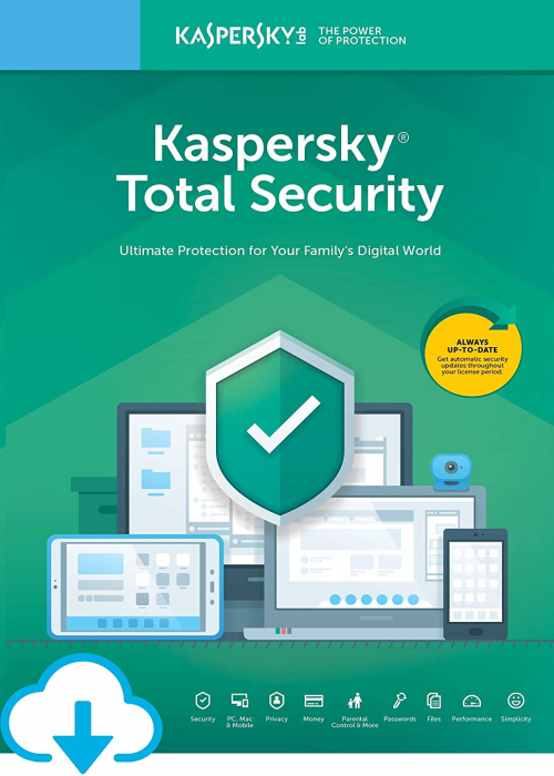 Kaspersky Total Security 2020 10 PC 1 Year Key North America