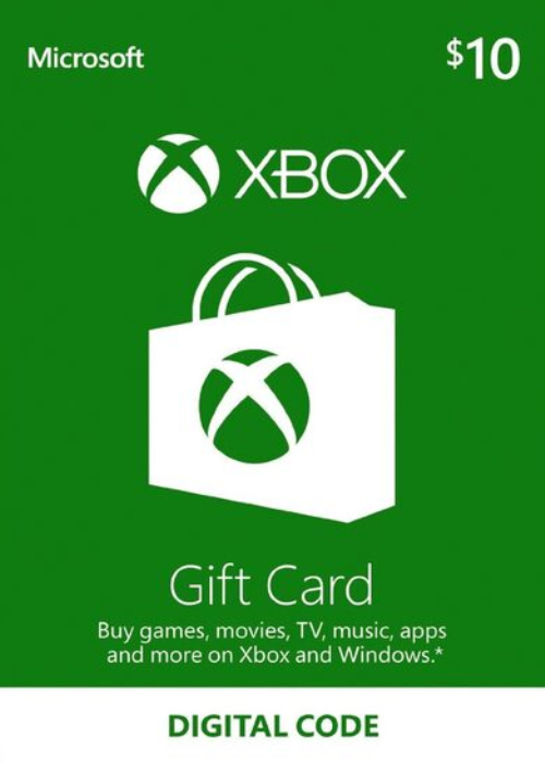 XBOX Live Gift Card 10 USD Key