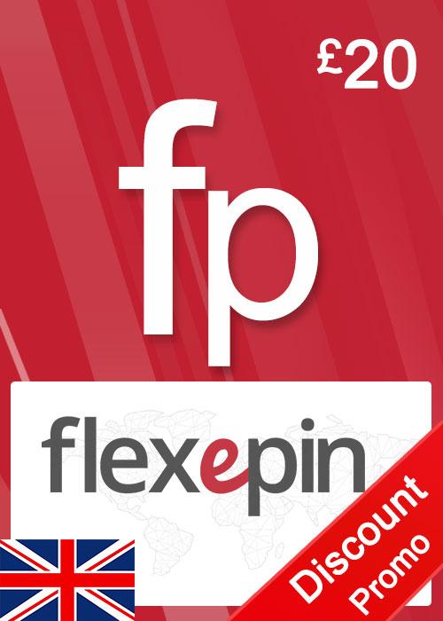 Flexepin Voucher Card 20 GBP