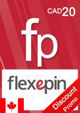 Official Flexepin Voucher Card 20 CAD