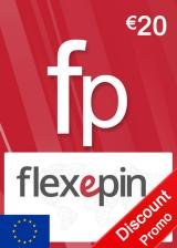 Official Flexepin Voucher Card 20 EUR