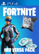 Official Fortnite Epic Neo Versa Bundle + 500 V-Bucks PSN PS4 Key EU