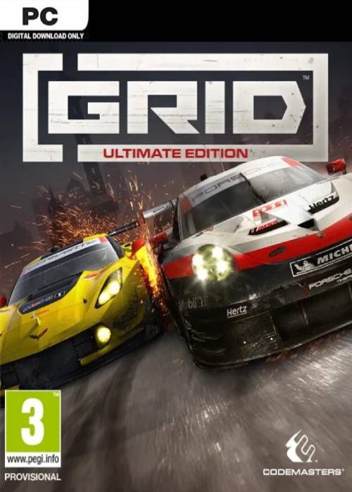 Grid Ultimate Edition Steam Key Global