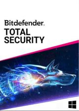 Official Bitdefender Total Security 10 PC 1 Year Limited Region CD Key