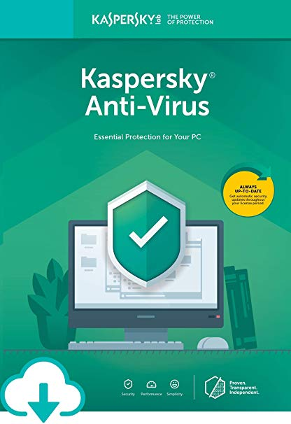 Kaspersky Antivirus 1 PC 1 Year Key EU