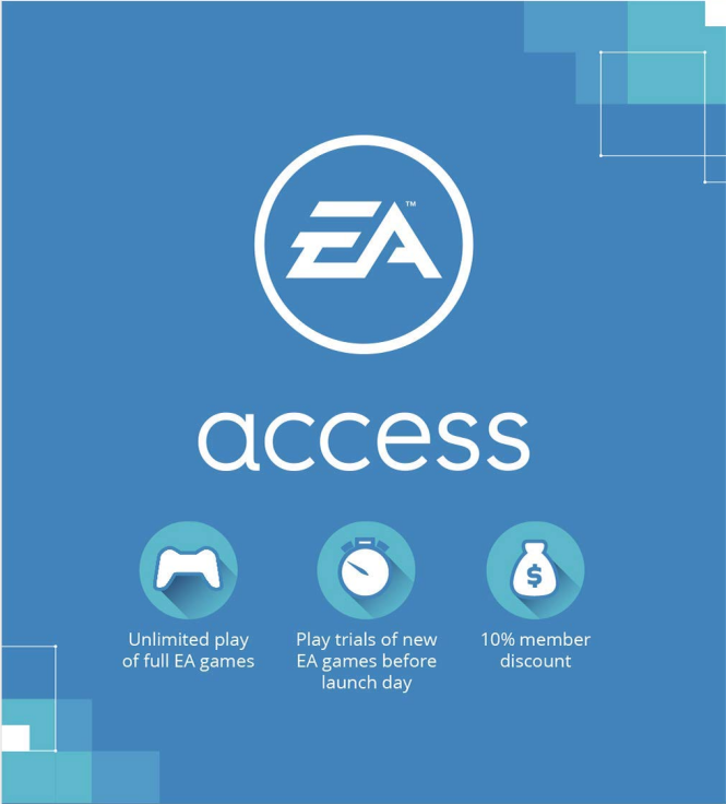 EA Access 1 Month Origin Key Global