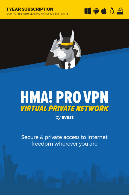 HMA Pro VPN 5 Devices 1 Year Key Global