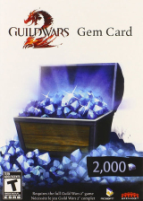 SCDKey.com, Guild Wars 2 2000 Gem Card Global