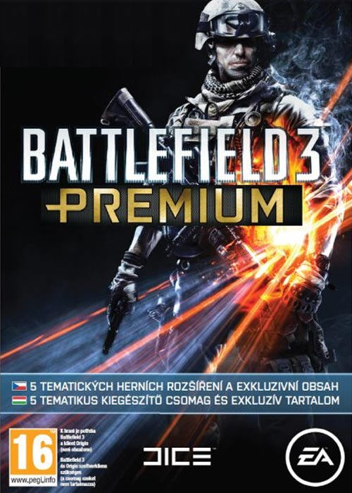 Battlefield 3 Premium DLC Origin CD Key