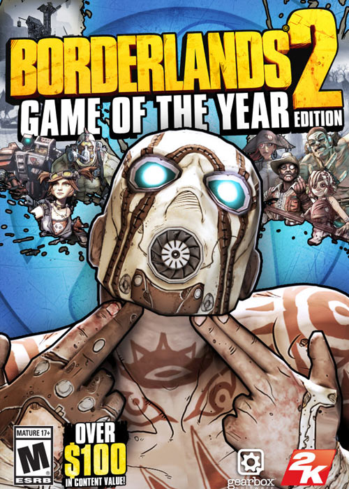 Borderlands 2: game of the year edition steam cd-key global.