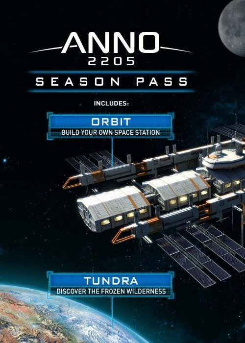 Anno 2205 Season Pass Uplay CD Key