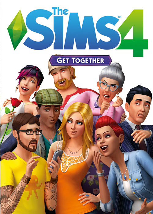 The Sims 4 Get Together DLC Origin CD Key