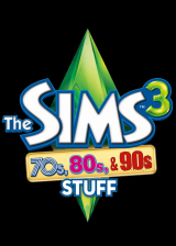 Official The Sims 3 70s 80s and 90s Stuff DLC Origin CD Key