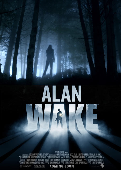 When the wife of the best-selling writer Alan Wake disappears on their vacation, his search turns up pages from a thriller he doesn't even remember writing. A Dark Presence stalks the small town of Bright Falls, pushing Wake to the brink of sanity in his fight to unravel the mystery and save his love.