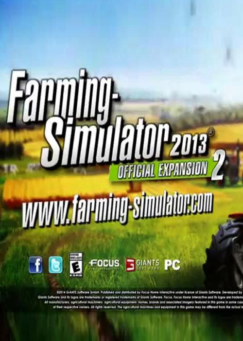 Farming Simulator 2013 Official Expansion 2 RETAIL CD Key