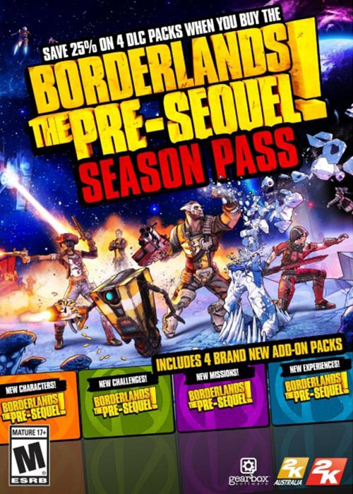 Borderlands Pre Sequel Season Pass Steam CD Key