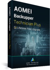 Official AOMEI Backupper Technician Plus + Lifetime Free Upgrades Key Global