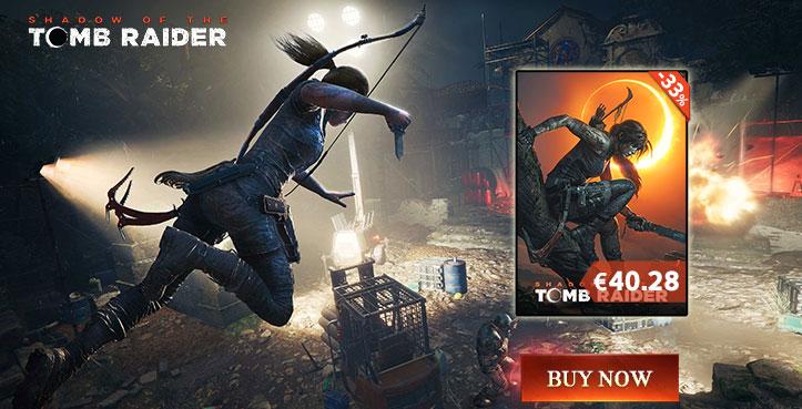 SCDKEY Shadow of The Tomb Raider