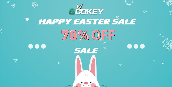scdkey easter sale 2020
