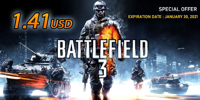 Battlefield 3 Origin Standard Edition CD Key(Special Offer)